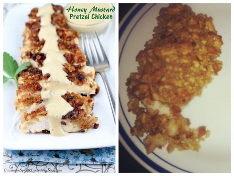Honey Mustard Pretzel Chicken Fail