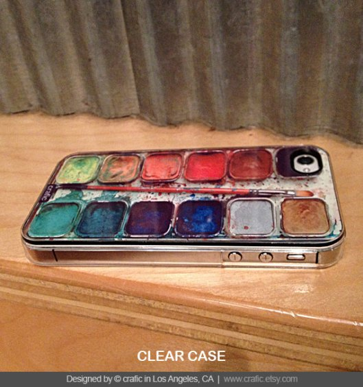 Watercolor Set iPhone Case by Crafic