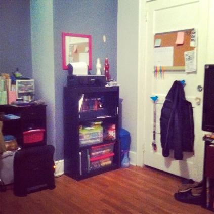 all organized