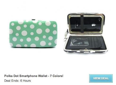 Smartphone wallet via GroopDealz
