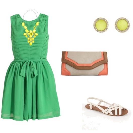 Green by Something Winnderful #stylinsunday