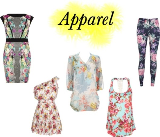 Floral Apparel by Something Winnderful via Polyvore