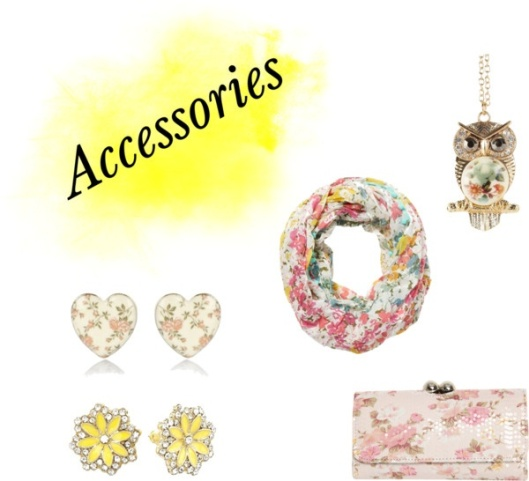 Floral Accessories by Something Winnderful via Polyvore
