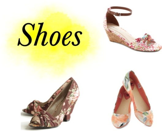 Floral Shoes by Something Winnderful via Polyvore