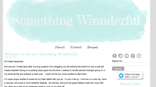 New something winnderful